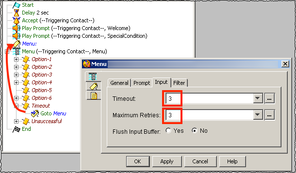 often want to perform custom call routing when either
